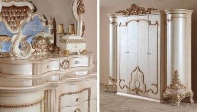 Lüks Fulya Klasik Yatak Odası - Thumbnail