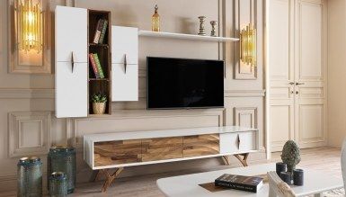 739 - Lüks Gaboron Modern TV Ünitesi
