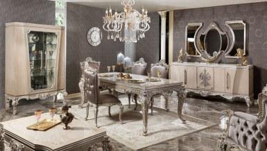 Lüks Gabrova Klasik Yemek Odası - Thumbnail