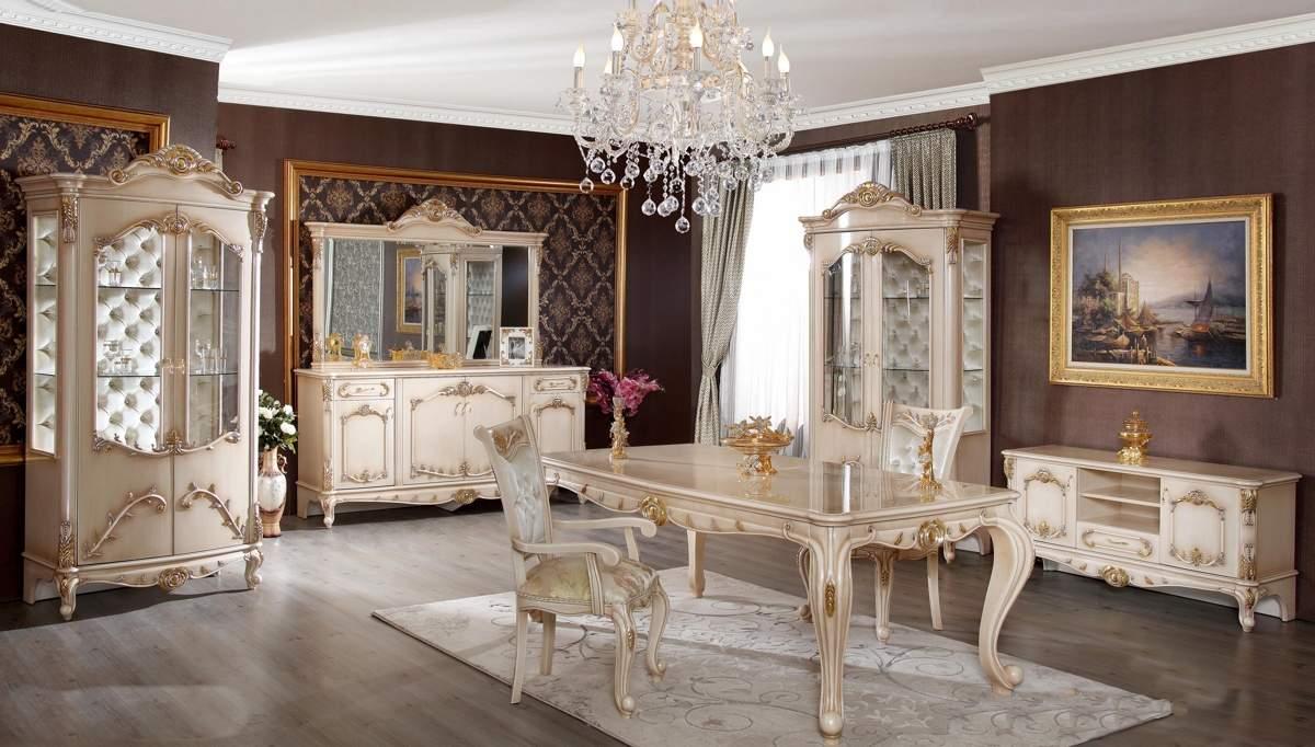 Lüks Galerya Klasik Yemek Odası