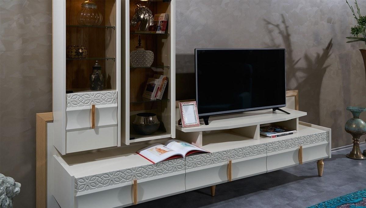 Lüks Gasol Modern TV Ünitesi