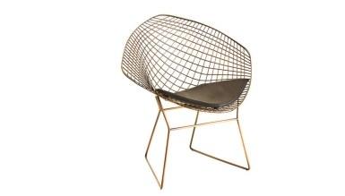 920 - Lüks Genem Kare Ayaklı Sandalye