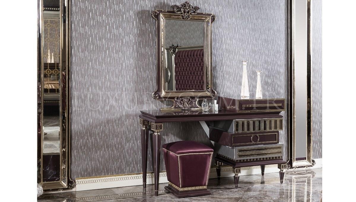 Lüks Gilan Klasik Yatak Odası