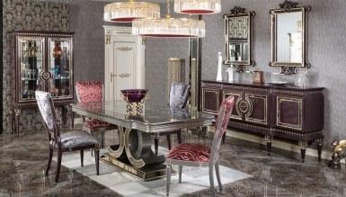 Lüks Gilan Klasik Yemek Odası - Thumbnail