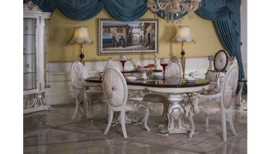Lüks Gökçe Klasik Yemek Odası - Thumbnail