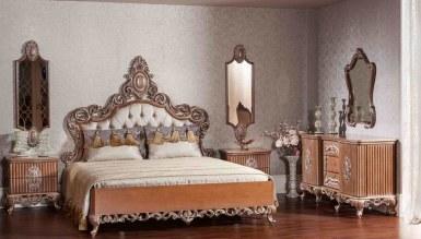768 - Lüks Göknar Klasik Yatak Odası