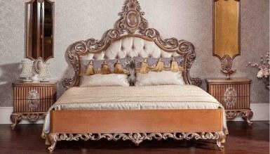 Lüks Göknar Klasik Yatak Odası - Thumbnail