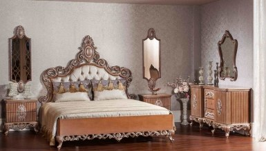 768 - Lüks Göktürk Klasik Yatak Odası