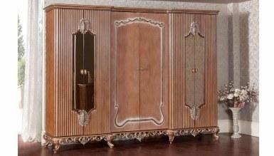 Lüks Göktürk Klasik Yatak Odası - Thumbnail