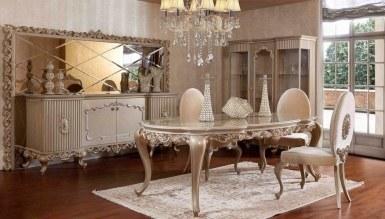 768 - Lüks Göktürk Klasik Yemek Odası