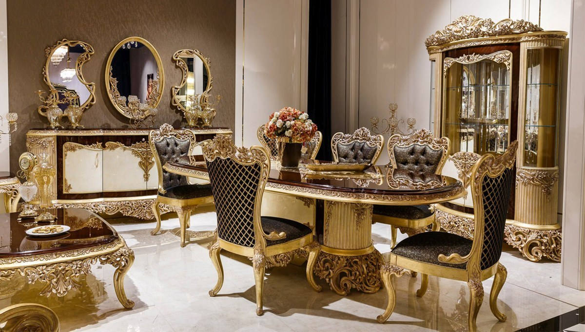 Lüks Granado Klasik Yemek Odası