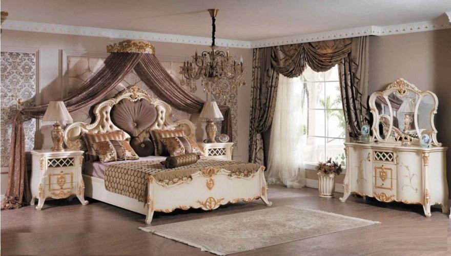Lüks Grand Lüks Klasik Yatak Odası - Thumbnail