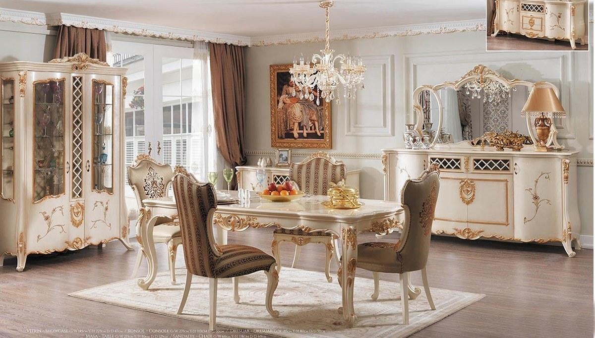 Lüks Grand Klasik Yemek Odası