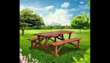 Lüks Guliti Piknik Masası - Thumbnail