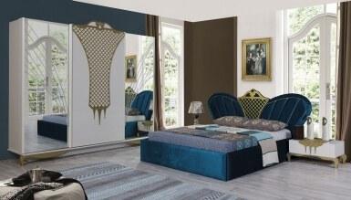 Lüks Gülzade Avangarde Yatak Odası - Thumbnail