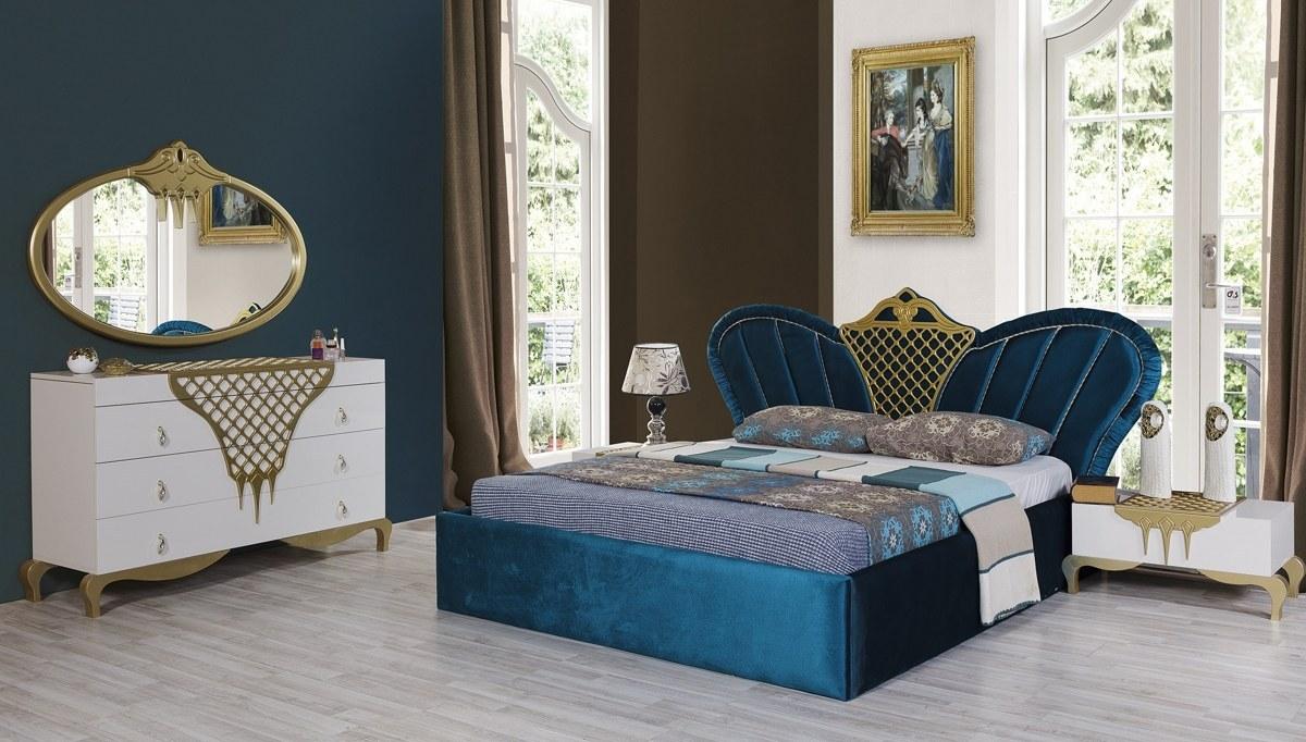 Lüks Gülzade Avangarde Yatak Odası