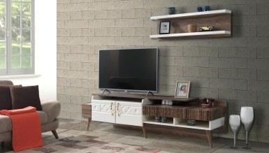 929 - Lüks Halden Raflı TV Ünitesi