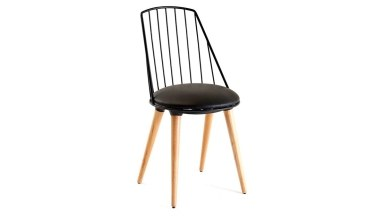920 - Lüks Hanas Ahşap Ayaklı Sandalye