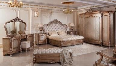 729 - Lüks Hansoy Bronz Klasik Yatak Odası