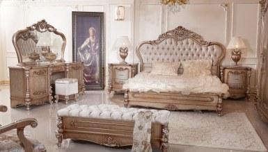 Lüks Hansoy Bronz Klasik Yatak Odası - Thumbnail