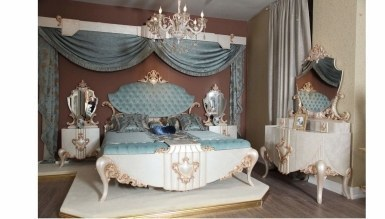Lüks Hendek Klasik Yatak Odası - Thumbnail