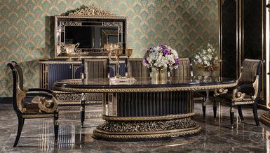 Lüks Hercai Klasik Yemek Odası - Thumbnail