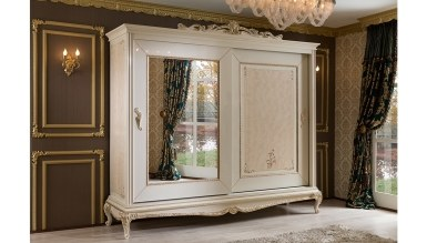 Lüks Herema Klasik Yatak Odası - Thumbnail