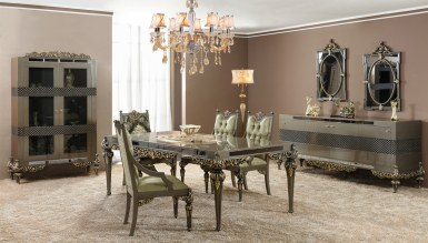 748 - Lüks Hesna Art Deco Yemek Odası