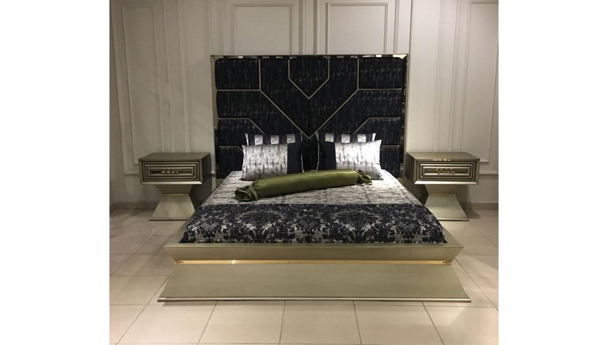 Lüks Hiciv Klasik Yatak Odası