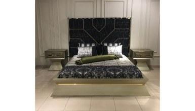 Lüks Hiciv Klasik Yatak Odası - Thumbnail