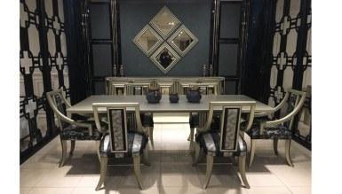 Lüks Hiciv Klasik Yemek Odası - Thumbnail
