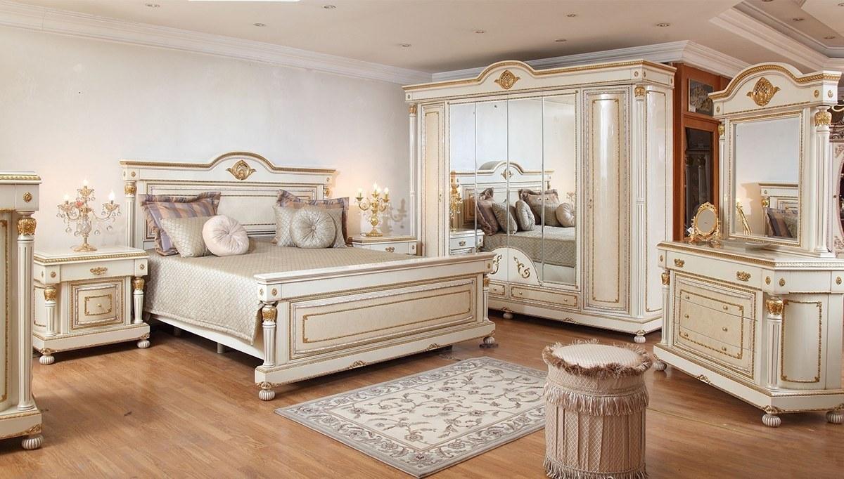 Lüks Hilal Klasik Yatak Odası