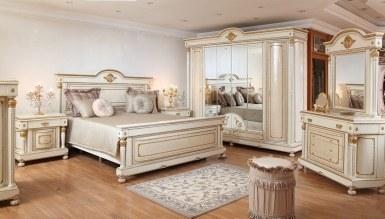 792 - Lüks Hilal Klasik Yatak Odası