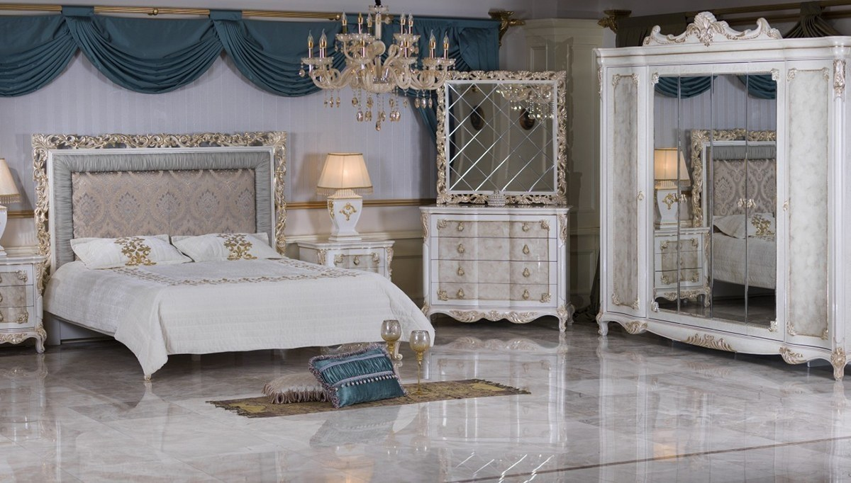 Lüks Hisar Klasik Yatak Odası