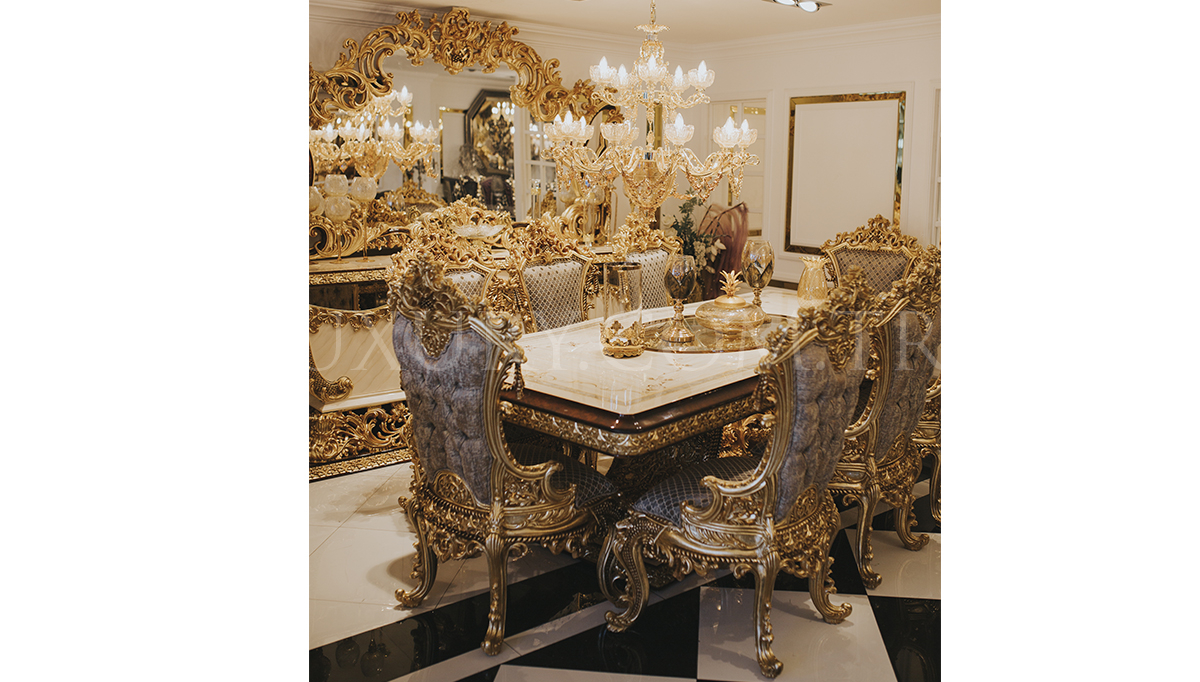 Lüks Hisar Klasik Yemek Odası
