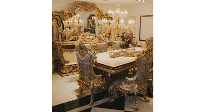 Lüks Hisar Klasik Yemek Odası - Thumbnail