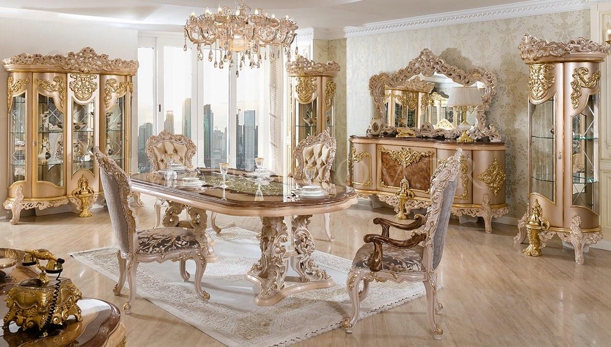 Lüks Hones Klasik Yemek Odası