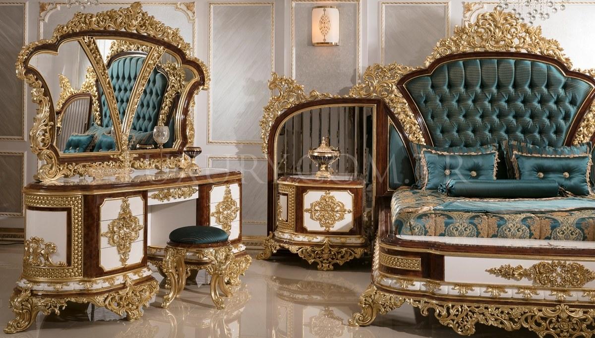 Lüks Hünkar Klasik Yatak Odası