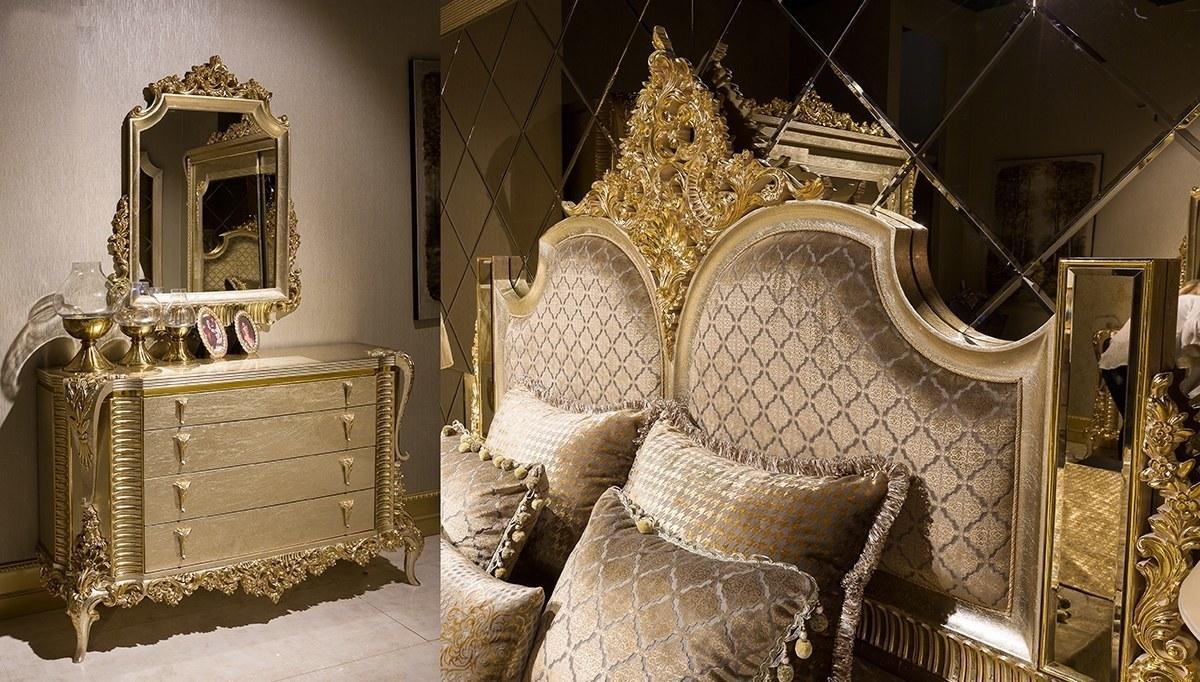 Lüks Hürreda Klasik Yatak Odası