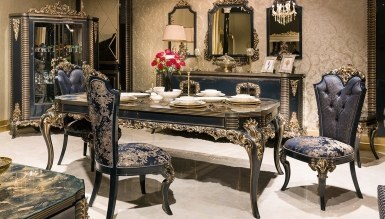 Lüks Hürreda Klasik غرفة الطعام