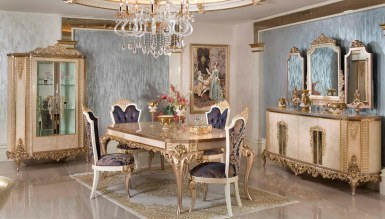 Lüks Hürreda Klasik Yemek Odası - Thumbnail