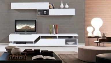 519 - Lüks İmena Beyaz TV Ünitesi