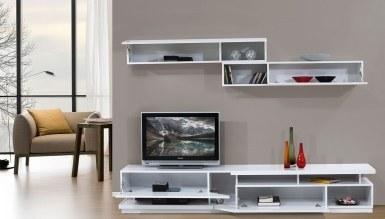 Lüks İmena Beyaz TV Ünitesi - Thumbnail