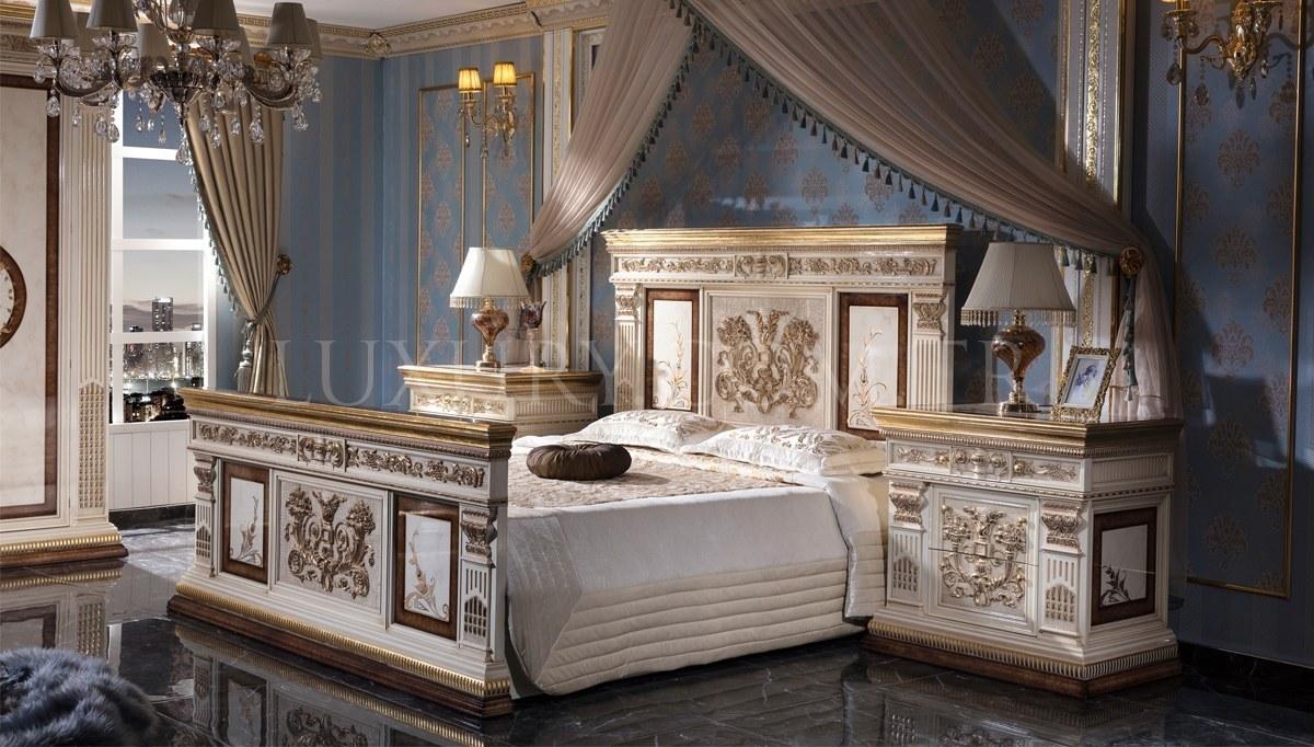 Lüks İmparator Klasik Yatak Odası