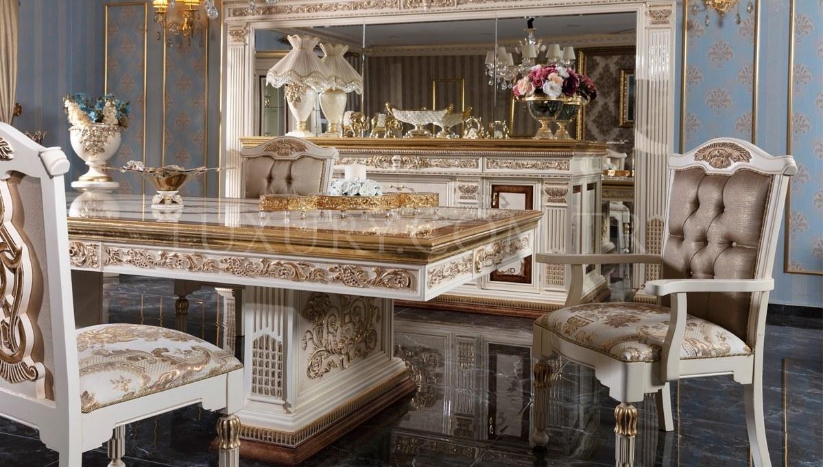 Lüks İmparator Klasik Yemek Odası