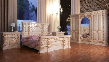 Lüks İmpesona Klasik Yatak Odası - Thumbnail
