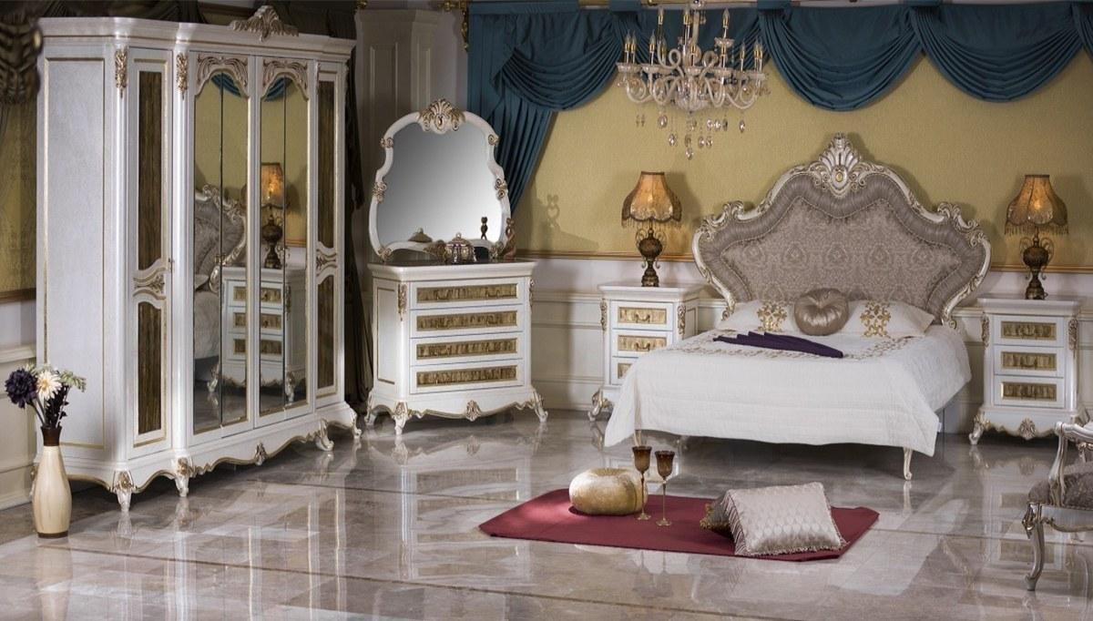 Lüks İncesu Klasik Yatak Odası