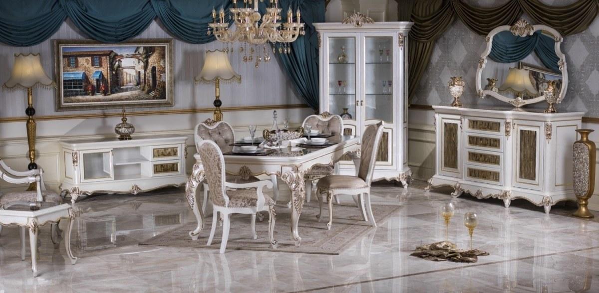 Lüks İncesu Klasik Yemek Odası