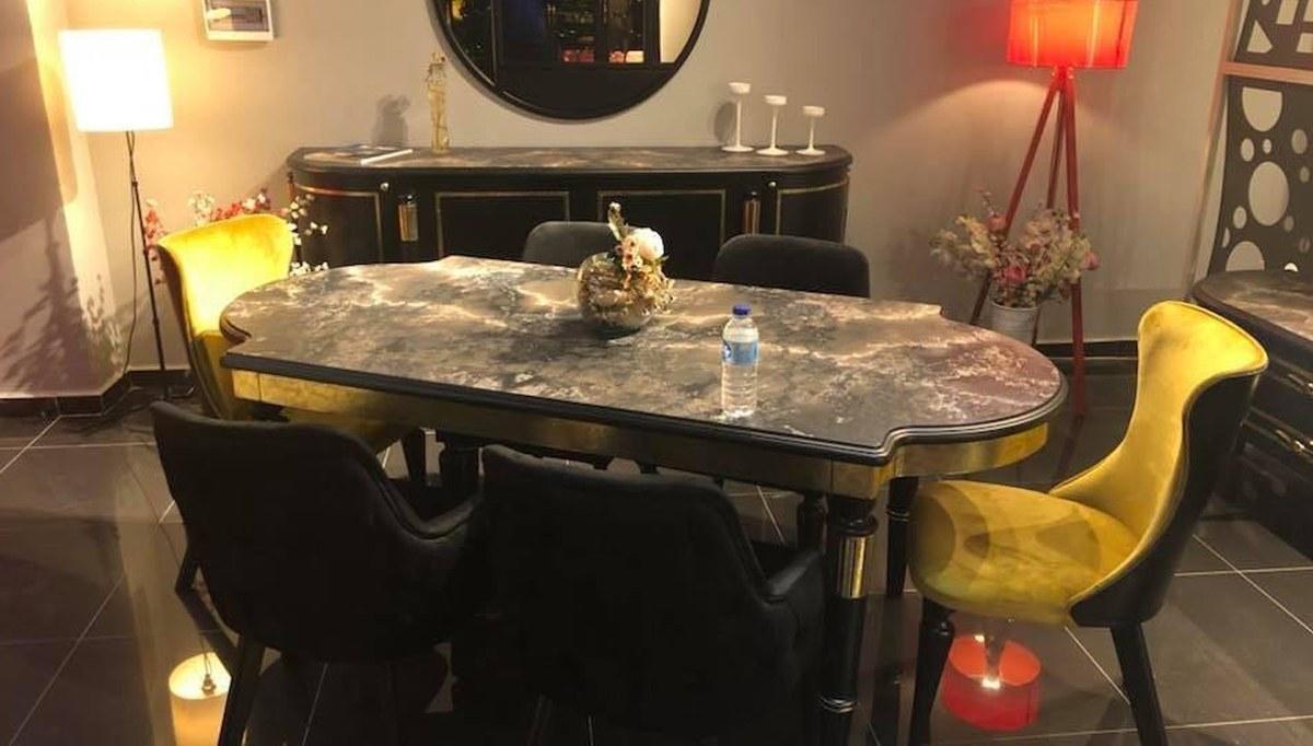 Lüks İskenderiye Art Deco Yemek Odası