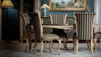 Lüks İskit Klasik Yemek Odası - Thumbnail